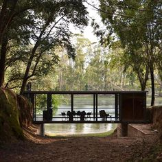 All about Bridge Pavilion by Alarcia Ferrer Arquitectos on Architonic. Find pictures & detailed information about retailers, contact ways & request options for Bridge Pavilion here! Pavilion Architecture, Contemporary Architecture, Landscape Architecture, Interior Architecture, Interior Design, Chinese Architecture, Futuristic Architecture, Interior Modern, Room Interior
