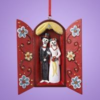 Muertos Wedding Nicho Ornament