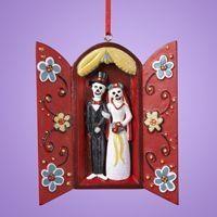 Muertos Wedding Nicho Ornament