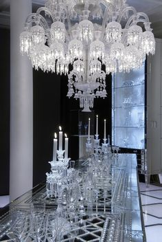 Maison Baccarat in Moscow would be the perfect setting for a remake of Jean Cocteau's classic film.