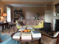 BPentreath's new chalky pink sitting room, Oct 2013