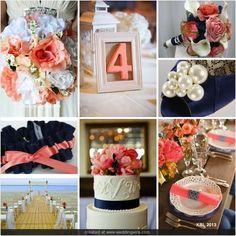 Oh So Preppy Wedding Inspiration Board by Kellianne Levick