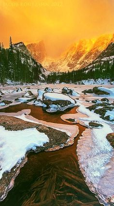 ✯ Sunrise - Dream Lake, Colorado