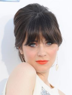 French twist hair best medium hairstyle french twist hairstyle4 backcombed updo with bangs ive got some now so im looking pmusecretfo Image collections