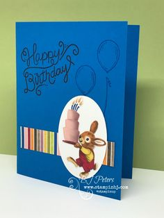 The Birthday Memories product suite brings back memories of childhood  birthday parties.  You have to check out this new product suite from  Stampin' Up!  #stampinbBJ.com