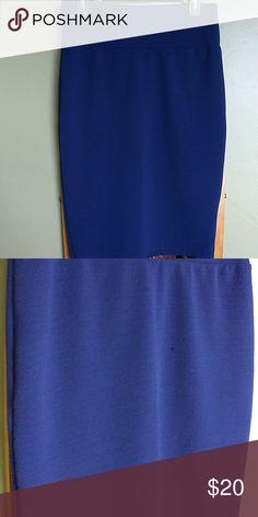 Cassy Lula roe skirt Blue Cassy skirt never worn LuLaRoe Skirts Midi