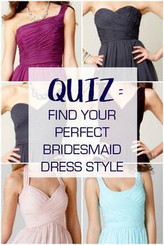 Still trying to find your perfect dress style? Take our quiz to find out what's best for you!
