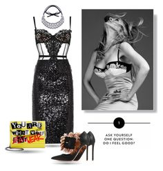 """""""You are what You wear"""" by curlysuebabydoll ❤ liked on Polyvore featuring L'Agent By Agent Provocateur, By Malene Birger, Rupert Sanderson, Jimmy Choo, fashionset and polyvoreeditorial"""
