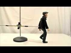 Walk Cycle test Fails - stop motion - YouTube