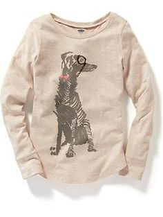 Long-Sleeve Graphic Tee for Girls | Old Navy