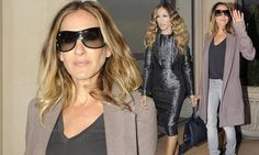 I Don't know How She Does It: Sarah Jessica Parker goes from casual chic to night-time sleek as she promotes her new film