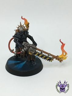 Blackstone Fortress - Pious Vorne, Missionary Zealot #ChaoticColors #commissionpainting #paintingcommission #painting #miniatures #paintingminiatures #wargaming #Miniaturepainting #Tabletopgames #Wargaming #Scalemodel #Miniatures #art #creative #photooftheday #hobby #paintingwarhammer #Warhammerpainting #warhammer #wh #gamesworkshop #gw #Warhammer40k #Warhammer40000 #Wh40k #40K #Imperium #chaos #warhammerquest #rpg #blackstonefortress #PiousVorne #MissionaryZealot