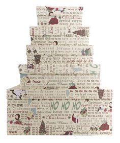 Caixas de natal Joy Paper www.joypaper.com.br compre on-line