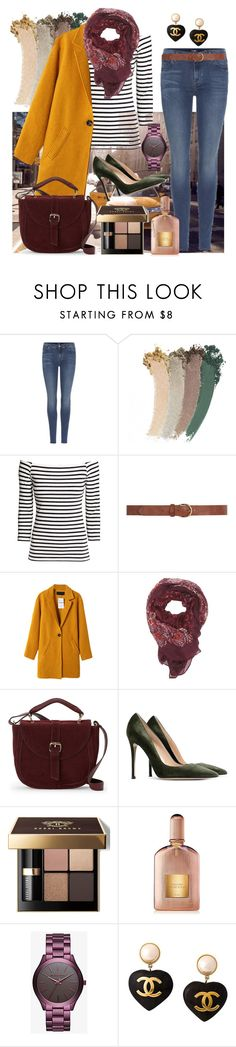 """""""15"""" by gunesokut ❤ liked on Polyvore featuring 7 For All Mankind, Gucci, H&M, Dorothy Perkins, Charlotte Russe, IMoshion, Gianvito Rossi, Bobbi Brown Cosmetics, Tom Ford and Michael Kors"""