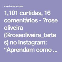 """1,101 curtidas, 16 comentários - 💮rose oliveira (@roseoliveira_tartes) no Instagram: """"Aprendam como fazer esse acabamento lindo nos cestos de malha 😊😉 #fiosdemalha #videoaula #crochet…"""""""