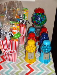 This Home of Ours: Carnival Birthday Party