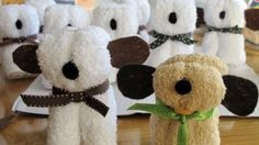 You'll love these super cute Baby Shower Ideas that include food, party favors and even some gifts for Daddy. These are all the top Pinterest pins and you won't want to miss them. Watch the Teddy Bear Washcloth video and check out the Hershey Prams too! More