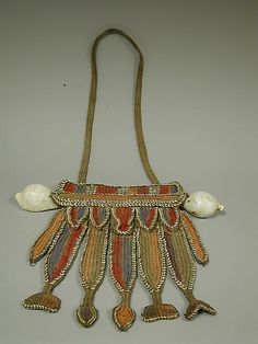 Dance Ornament, mid-20th century. Possibly Bena Bena. Papua New Guinea or Indonesia, New Guinea. The Metropolitan Museum of Art, New York. Gift of Muriel Kallis Newman, 2007 (2007.215.6). | For important occasions such as dances, rituals, and ceremonial  gift exchanges, the peoples of the New Guinea Highlands adorn themselves in diverse and often spectacular regalia. Through their elaborate personal ornamentation, many Highland peoples effectively become living works of art. #dance