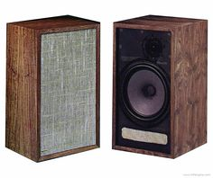 """Dynamo A-25 2 way speaker with 10"""" woofers. These are comparable to Advent Large and Advent New Large Loudspeakers and Matantz Imperial 6 speakers all with 10"""" woofers. The Marantz do have a warmer sound than the others . I have that Marantz Imperal 6 and The Advent New Loudspeakers. I would love a pair of these."""