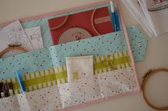 Project book pouch pattern