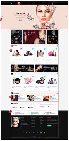 Leo Cosmetics Prestashop Theme   Prestashop 1.6 Template   Prestashop Theme   Premium Prestashop Theme   LeoTheme
