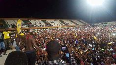 Photos: Eddy Kenzo performs to thousands in Guinea Bissau — Blizz Uganda