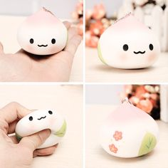 Teeth Squishies,Kawaii Tooth Squishy Slow Rising Stress Toy for Play 1 Piece (Pink) Silly Squishies, Balle Anti Stress, Kawaii Cute, Kawaii Stuff, Squishy Kawaii, Stress Toys, Cute Japanese, Cute Toys, Plushies