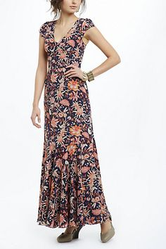 Bruna Dress from #anthropologie // the photo does not do this dress justice. It's so beautiful!