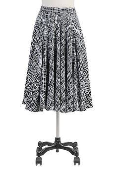 stipple circle skirt, on clearance/overstock.