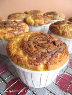 6th Nov 2010   These Nutella cupcakes are so yummy! Texture is so soft and fluffy! Real divine with nutella added! Mine looked more like mu...