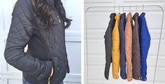 Baby it's cold (FREEZING) outside!! Grab this cute quilted coat for $29.99!