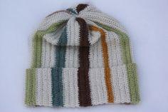 VÅRLI : Myk og varm lue av restegarn Knitted Hats, Crochet Hats, Knitting, Rose, Fashion, Knitting Hats, Moda, Pink, Tricot