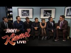 Jimmy plays a quick game of telephone with Avengers cast members Robert Downey Jr., Chris Hemsworth, Mark Ruffalo, Chris Evans, Scarlett Johansson and Jeremy...
