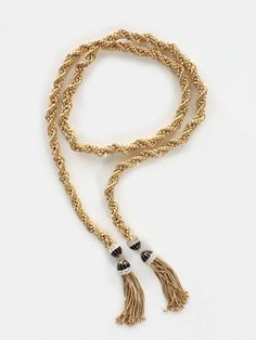 Long Tassel End Necklace by Rachel Zoe - ShopKitson.com