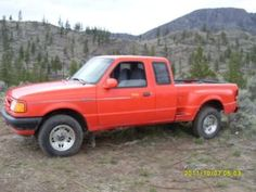 1994 Ford Ranger Splash 4X4 Pickup Truck