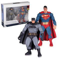 DC Batman Dark Knight Returns Batman Superman Action Figure Set