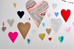 Hearts On Our Wall