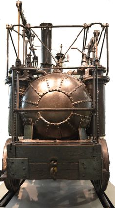 """The Puffing Billy — """"the oldest surviving locomotive in the world."""""""