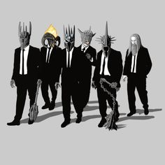 Reservoir Lords Mace Variant T-shirt / Reservoir Dogs / Reservoir Dogs, J. R. R. Tolkien, Witch King Of Angmar, Base Ball, O Hobbit, Fan Art, Middle Earth, Lord Of The Rings, Animes Wallpapers