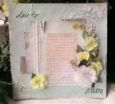 Scrapbook Layout 12x12  Dare To Dream  by morepaperthanshoes, $19.99