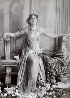 """Margaretha Geertruida """"Margreet"""" MacLeod (Aug 07, 1876 - Oct 15, 1917), better known by the stage name Mata Hari, was a Dutch exotic dancer and courtesan who was convicted of being a spy for Germany during World War I and executed by firing squad in France."""