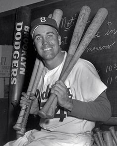 1955: Duke Snider, OF, Brooklyn Dodgers : Sporting News MLB Players of the Year, 1936-2016