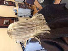 Natural cool toned blonde!
