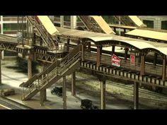 HO Scale Elevated Train | ... HO Scale Elevated Train structured layout, Imagine That Laser Art cut