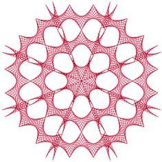 Segments = 10, Wedges = 8, Levels = 3, Angle = 50°