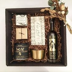 Custom Corporate Client Gift Box. Curated Gift Box. Referral gifts.
