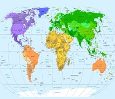 100 Vector World Map With All Countries Maproom World Map With All
