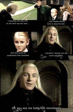 Jason Isaacs watched Tom Felton's portrayal of Draco to help him decide how to play Lucius. #HappyBirthdayJasonIsaacs