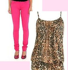 Beautiful In Pittsburgh: Hottest Trend Alert : Neon Pink With Cheetah Print