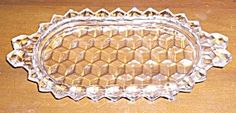 American Fostoria Tea Tray Handled. Click on the image for more information.
